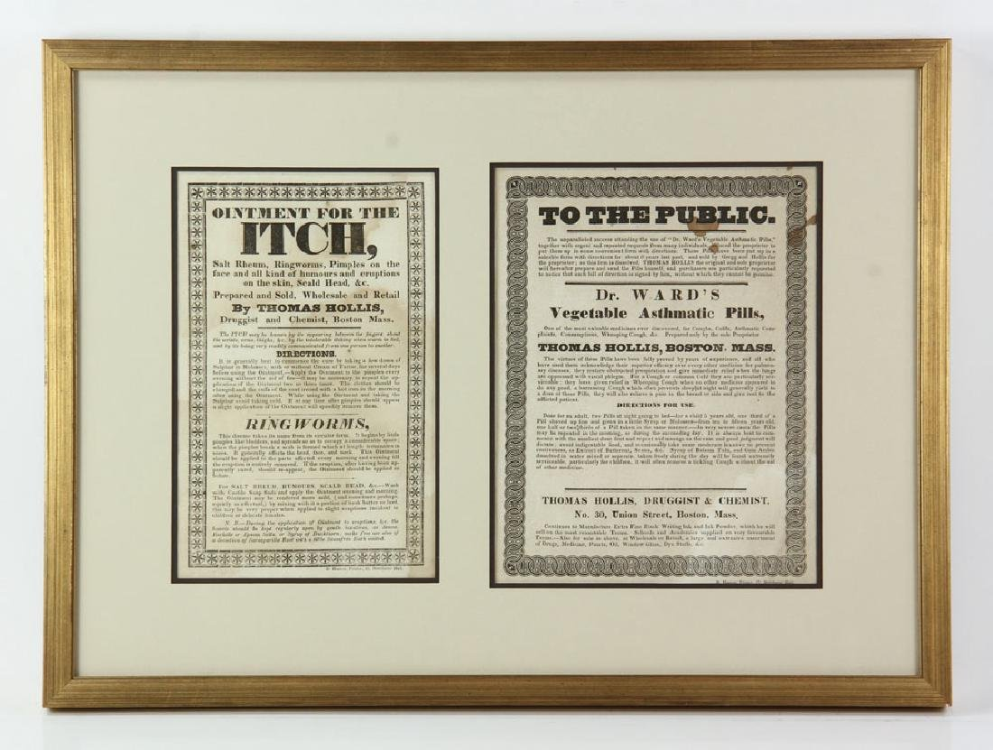 Two 19th C. Quack Remedy Advertisements