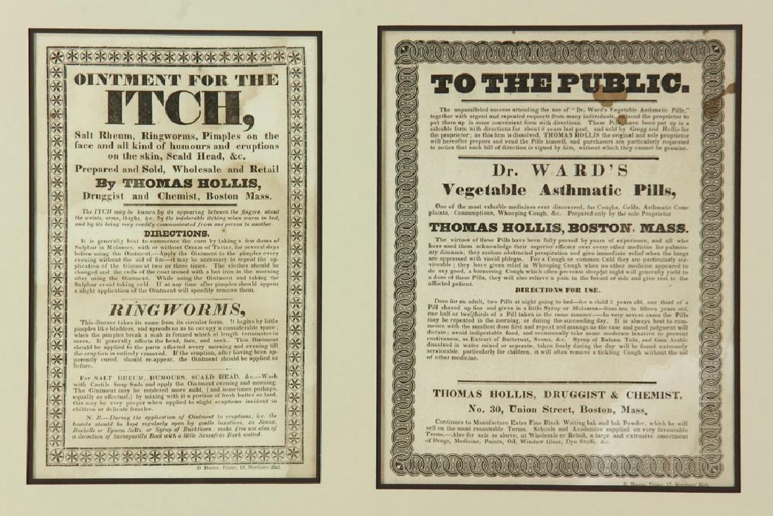 Two 19th C. Quack Remedy Advertisements - 3