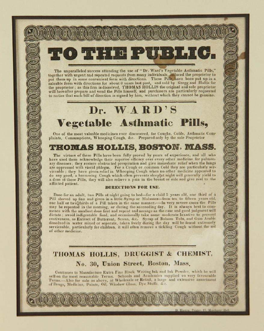 Two 19th C. Quack Remedy Advertisements - 4