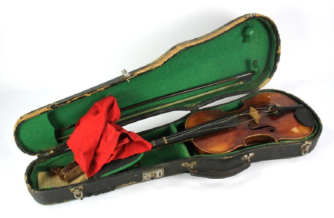 A. Heberlein German Violin - 2