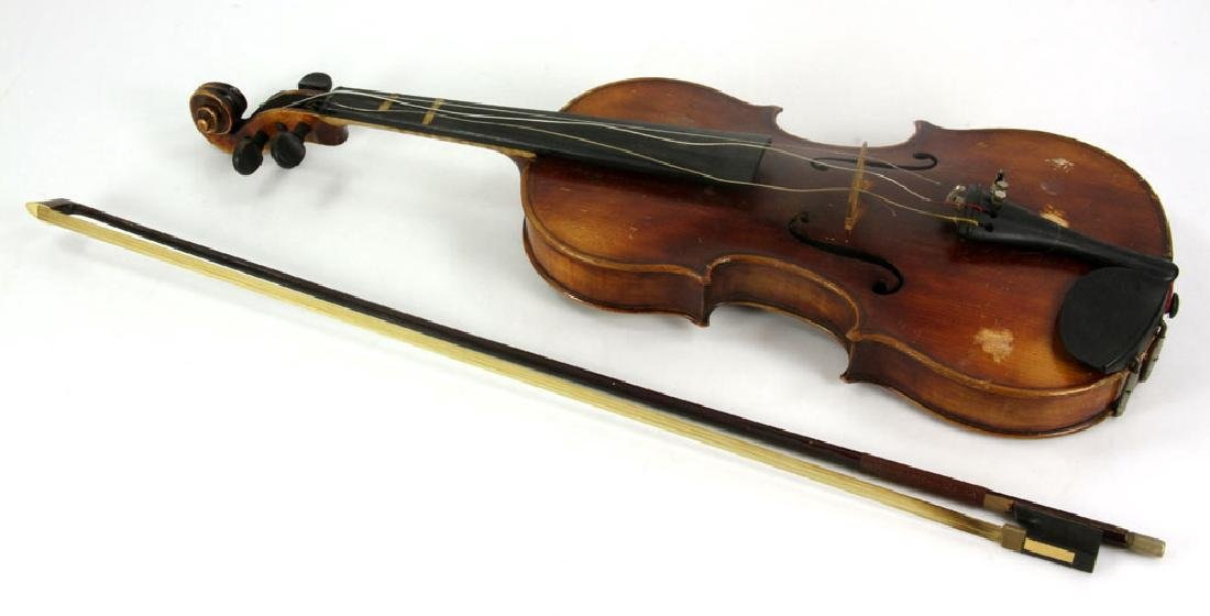 A. Heberlein German Violin - 3