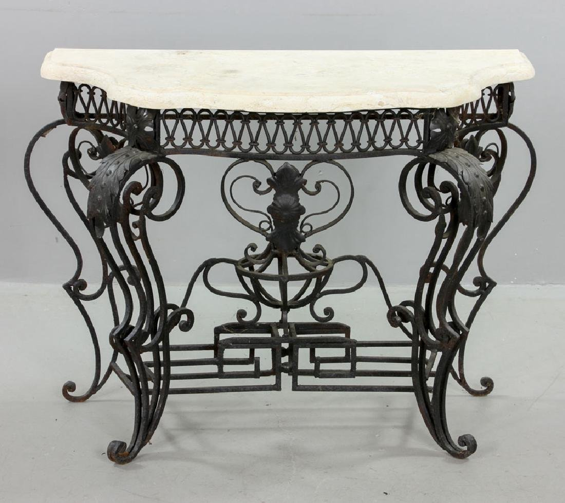 Cast Iron Outdoor Side Table