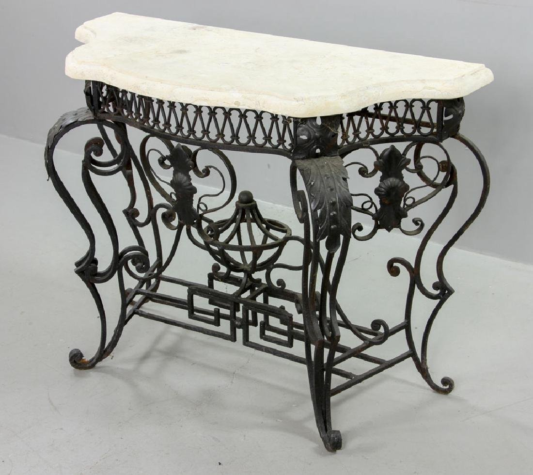 Cast Iron Outdoor Side Table - 2
