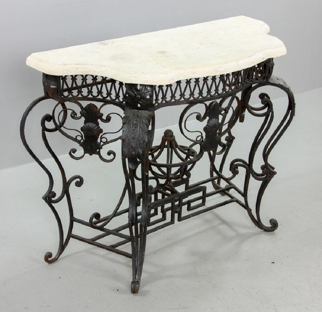Cast Iron Outdoor Side Table - 3
