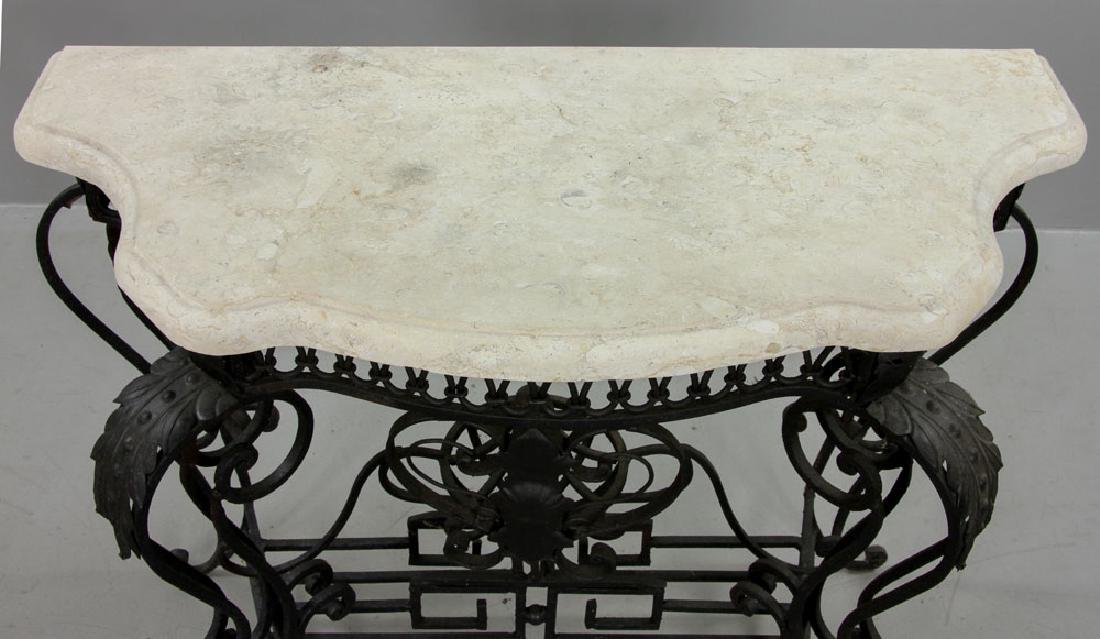Cast Iron Outdoor Side Table - 4