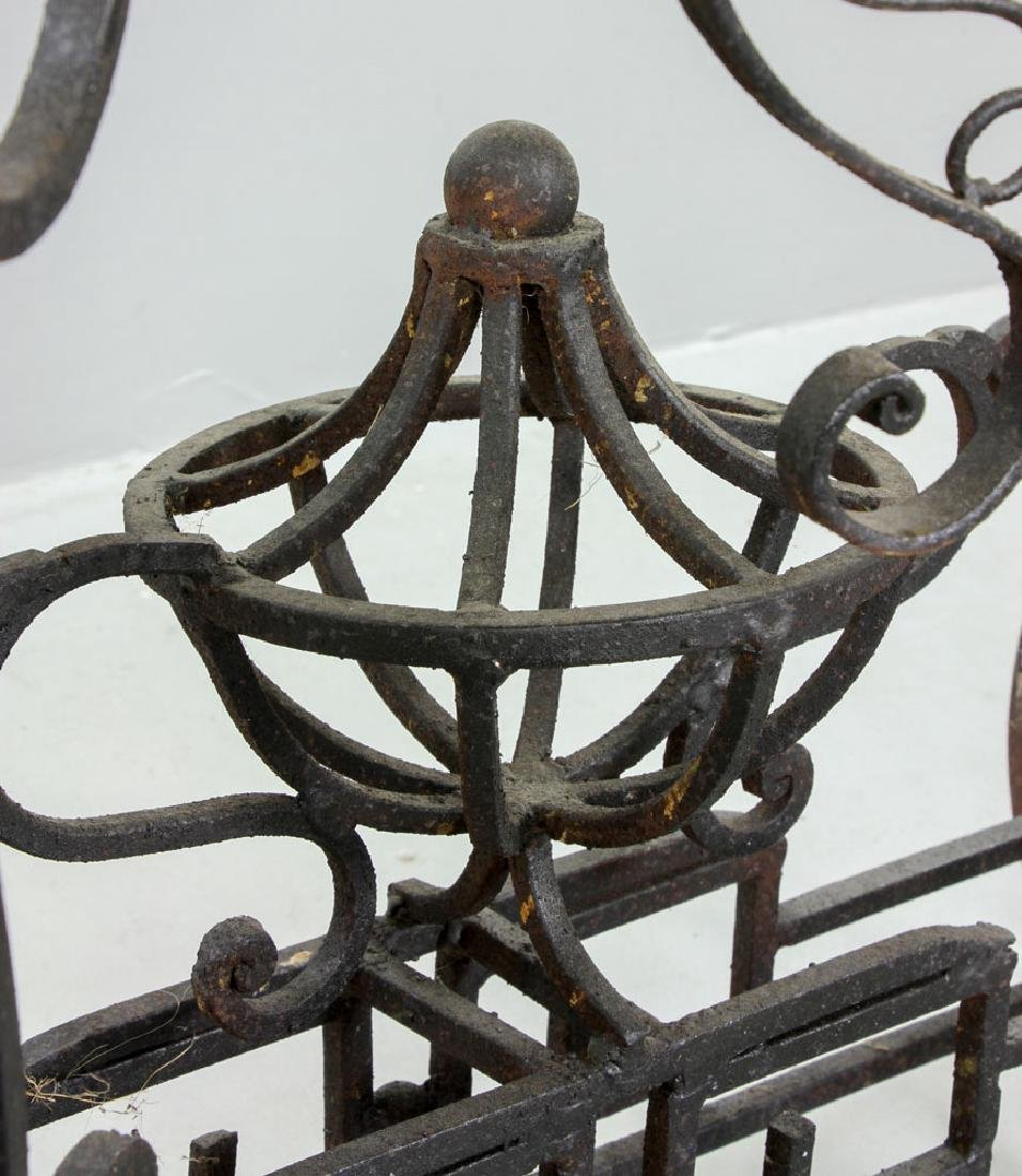 Cast Iron Outdoor Side Table - 5
