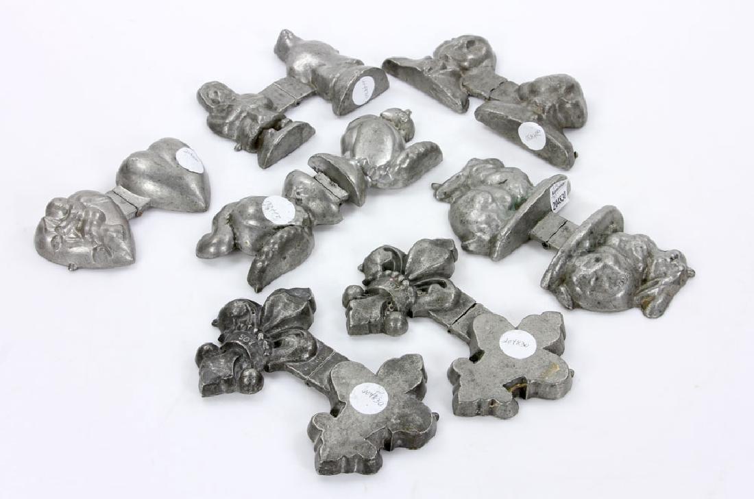 Seven Iron Ice Cream Molds - 2
