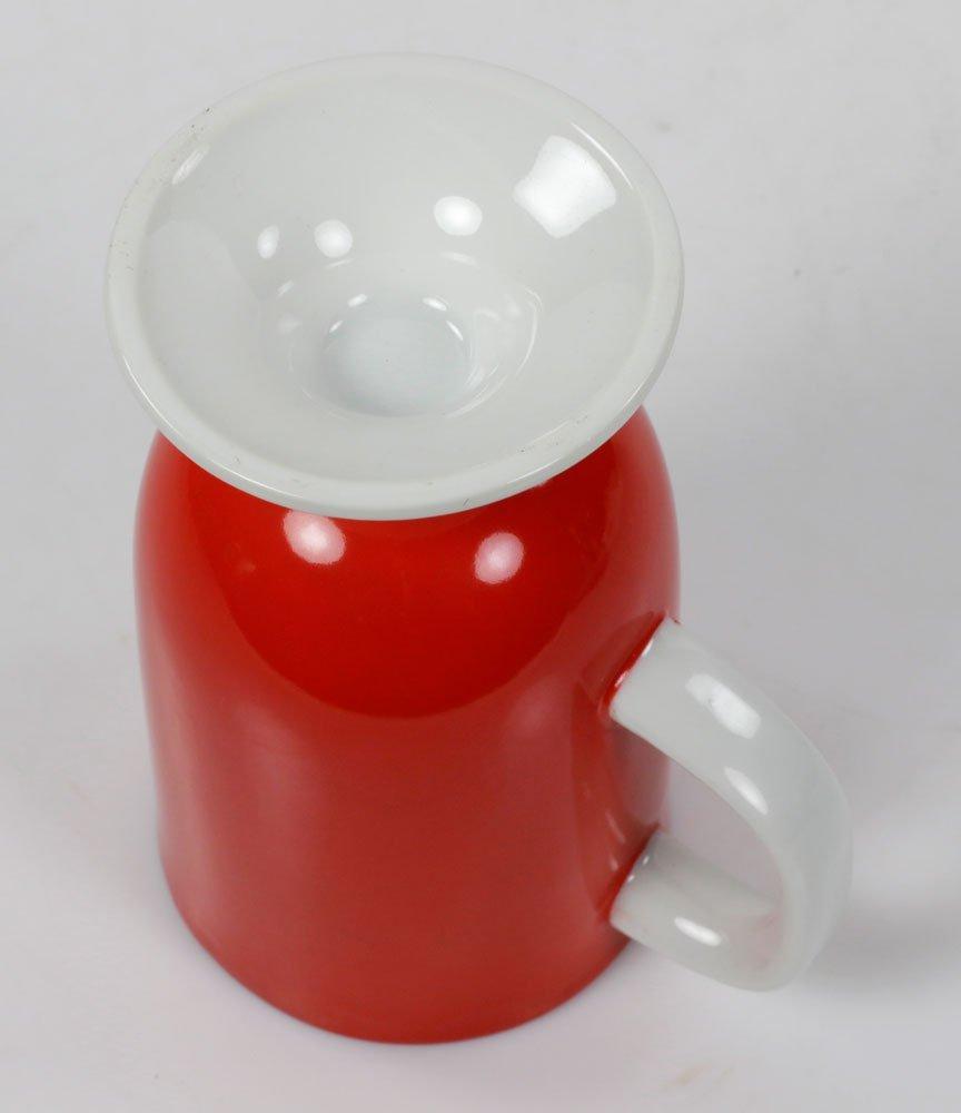 Lot of Italian Red Mugs - 4
