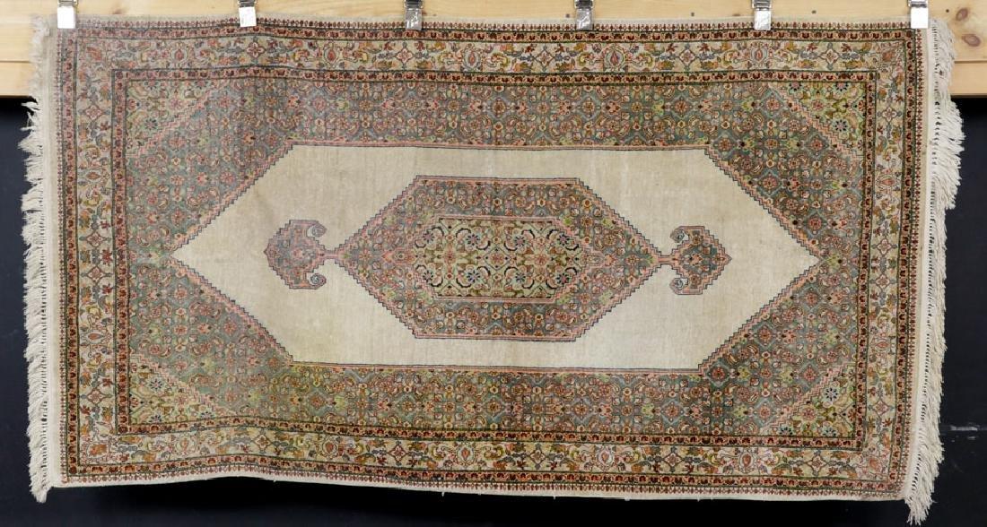Semi Antique Silk Carpet