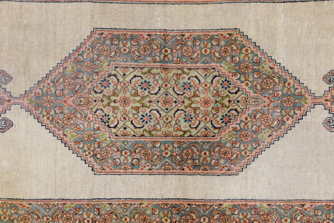 Semi Antique Silk Carpet - 2