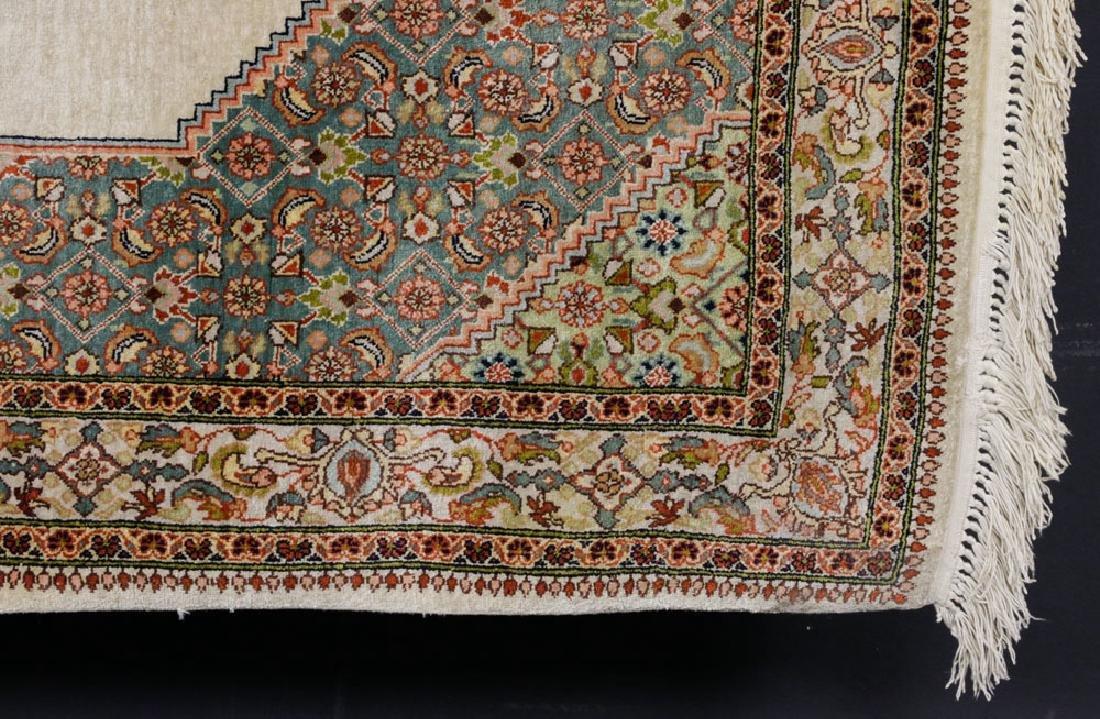 Semi Antique Silk Carpet - 3