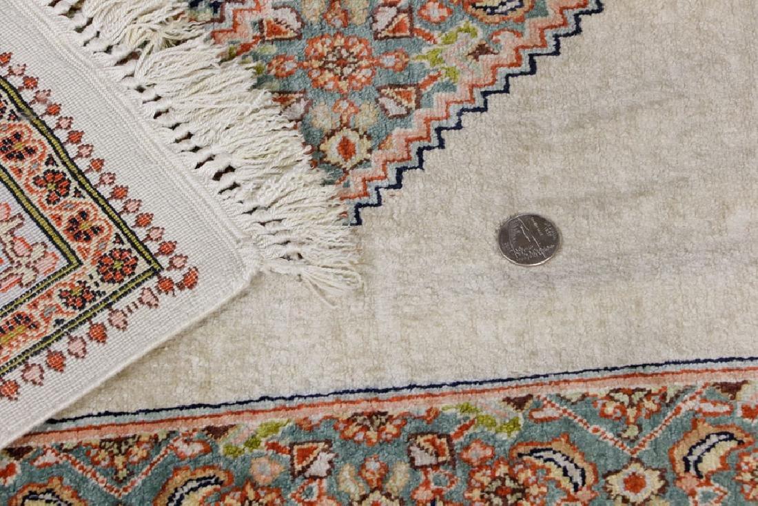 Semi Antique Silk Carpet - 5