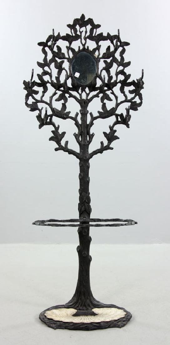 Victorian Wrought Iron Umbrella Stand