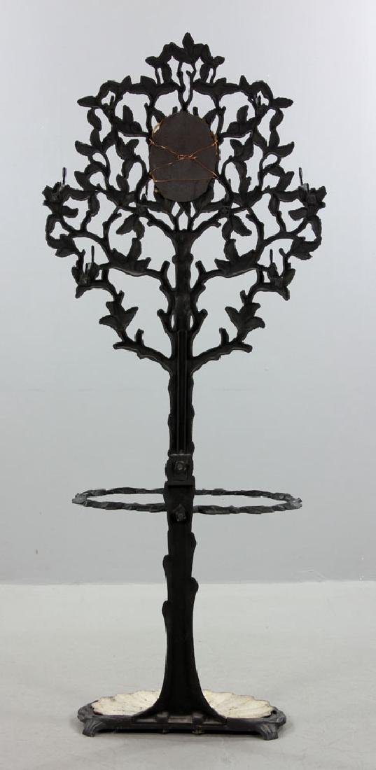 Victorian Wrought Iron Umbrella Stand - 7