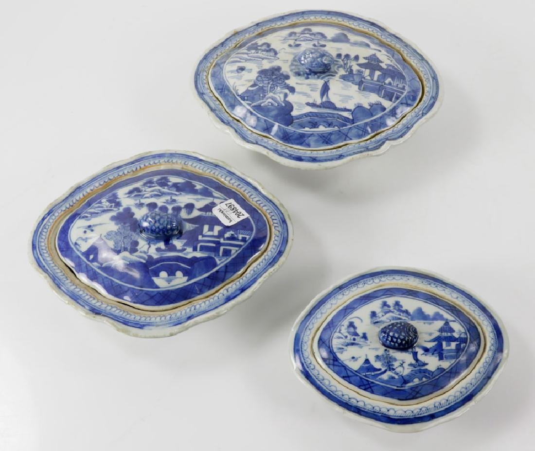 Lot of 19th C. Chinese Cantonware - 6