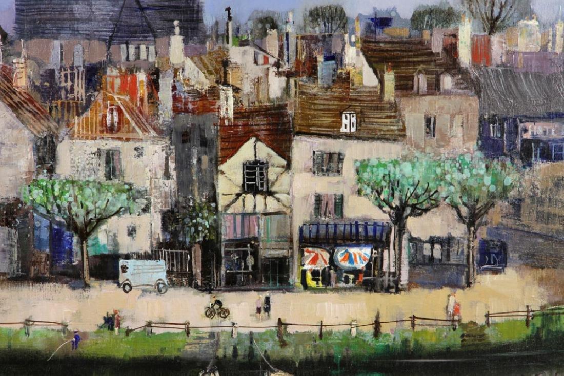Jasuela, Waterfront Village, Oil on Canvas - 2