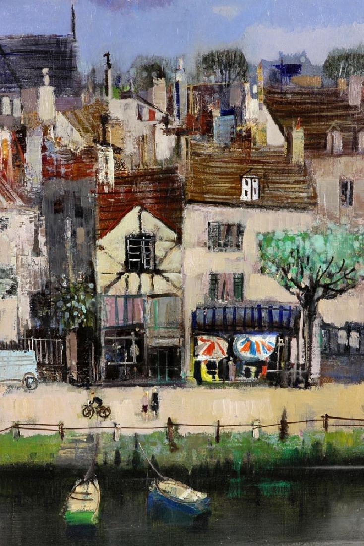 Jasuela, Waterfront Village, Oil on Canvas - 3