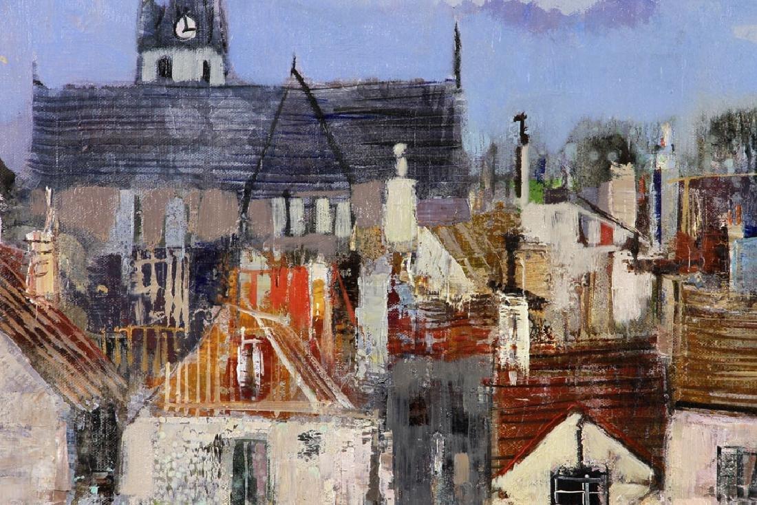 Jasuela, Waterfront Village, Oil on Canvas - 4