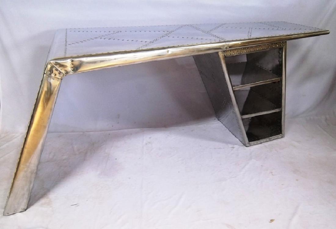 Riveted Aviator Desk