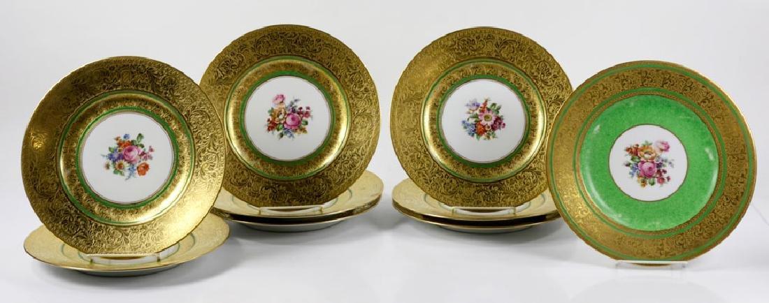 Bavarian Gold Dinner Plates