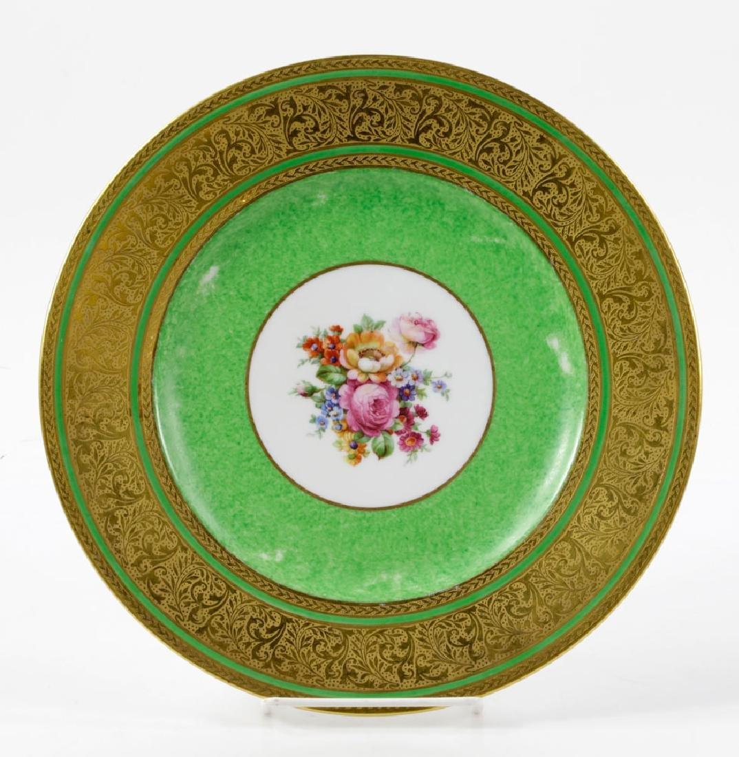 Bavarian Gold Dinner Plates - 2