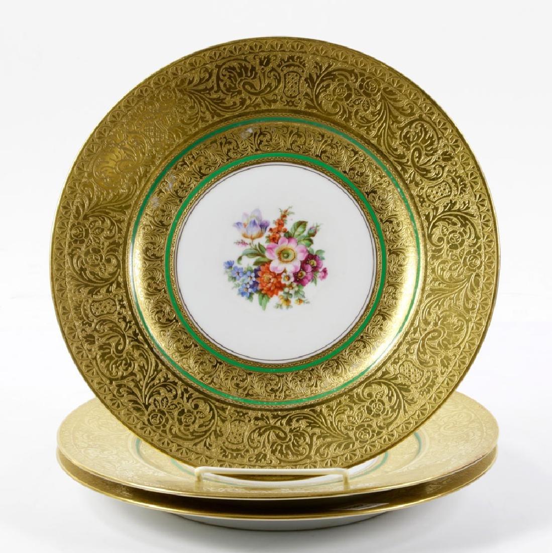 Bavarian Gold Dinner Plates - 3