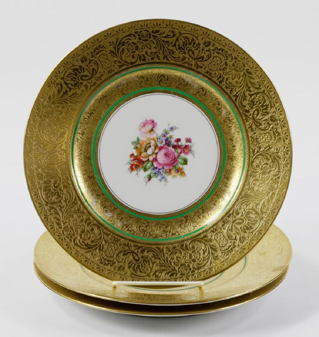Bavarian Gold Dinner Plates - 5