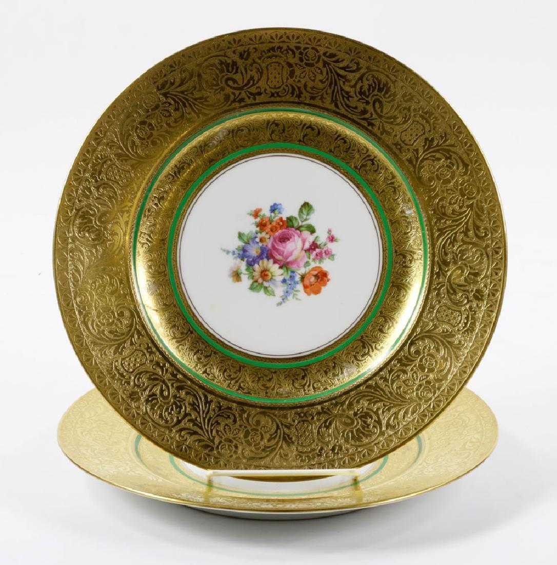 Bavarian Gold Dinner Plates - 7