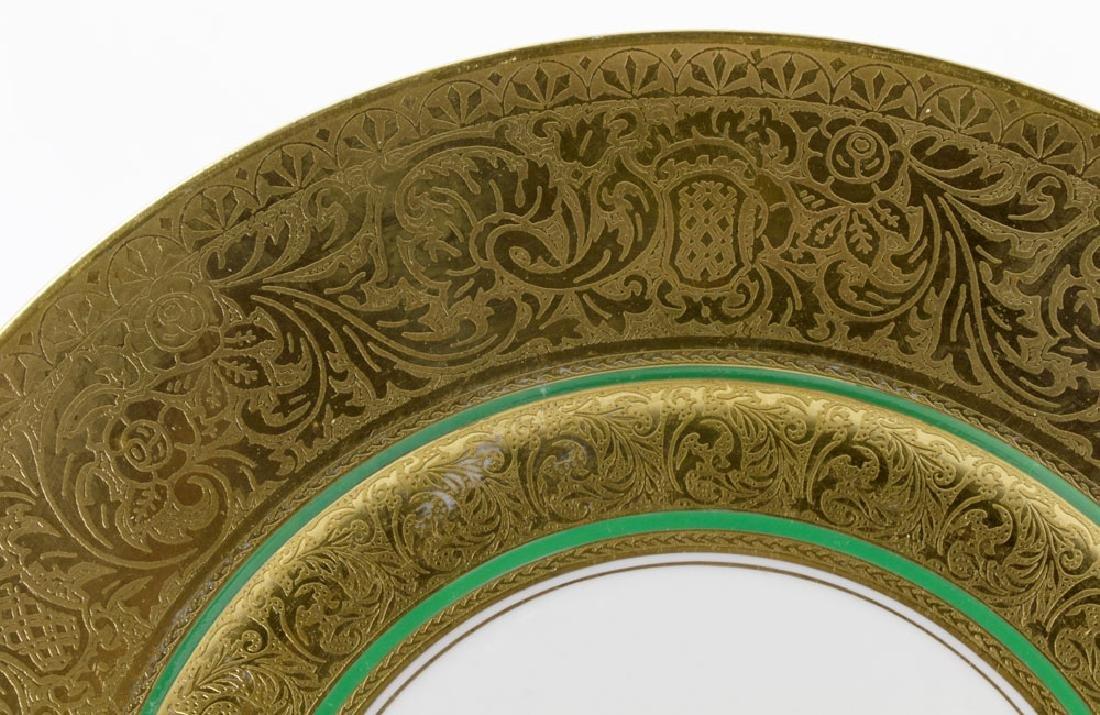 Bavarian Gold Dinner Plates - 9