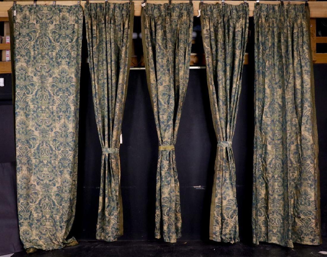 Fortuny Fabric Window Dressings