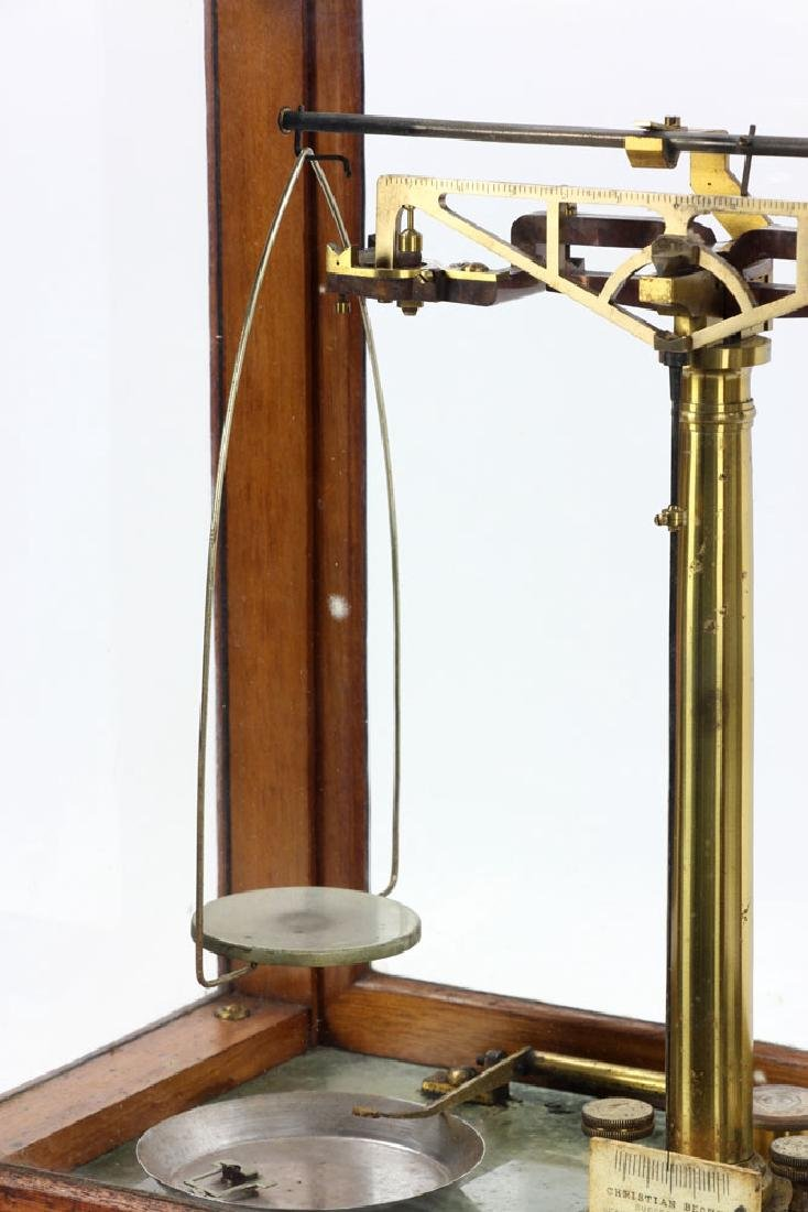"Antique ""Christian Becker"" Gold Scale - 9"