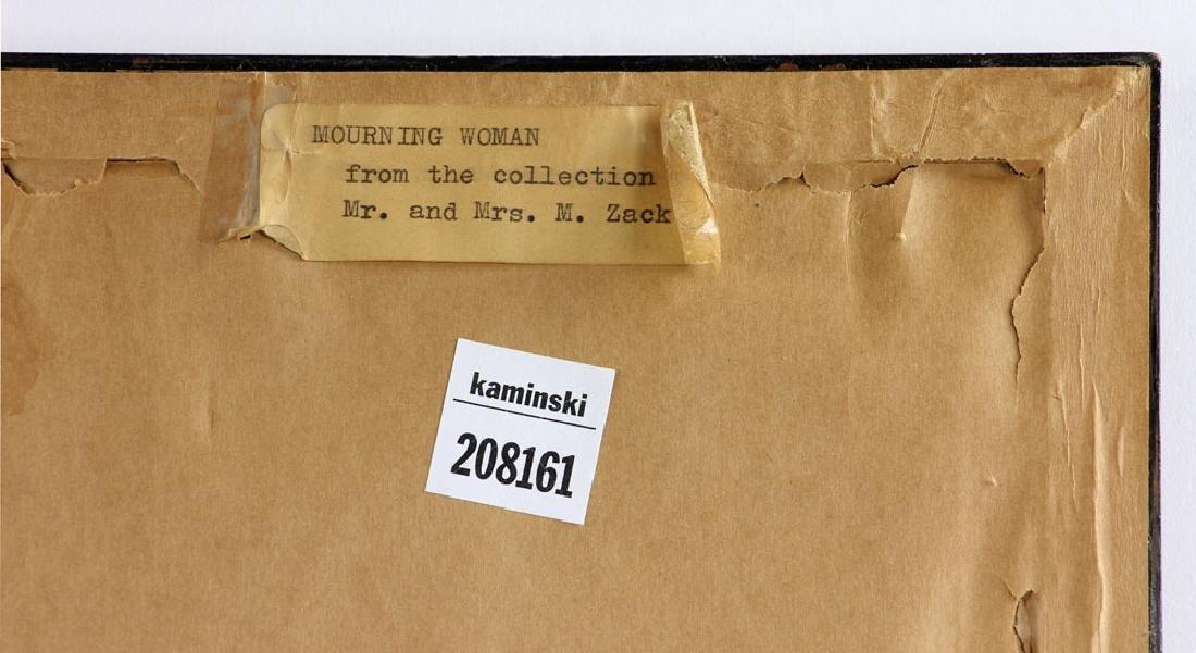 """Baskin, """"Morning Woman,"""" Print - 6"""