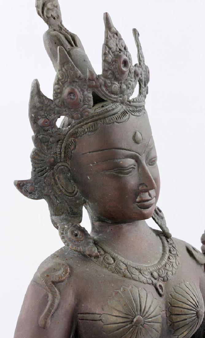 Bronze Figure of Shiva - 7