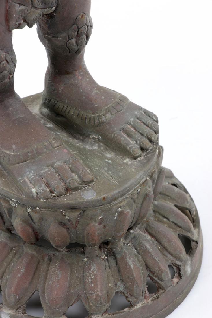 Bronze Figure of Shiva - 8