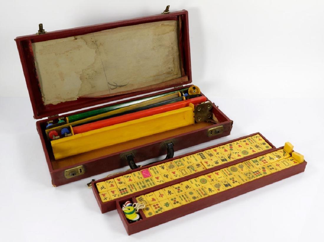 Chinese Mahjong Set - 3