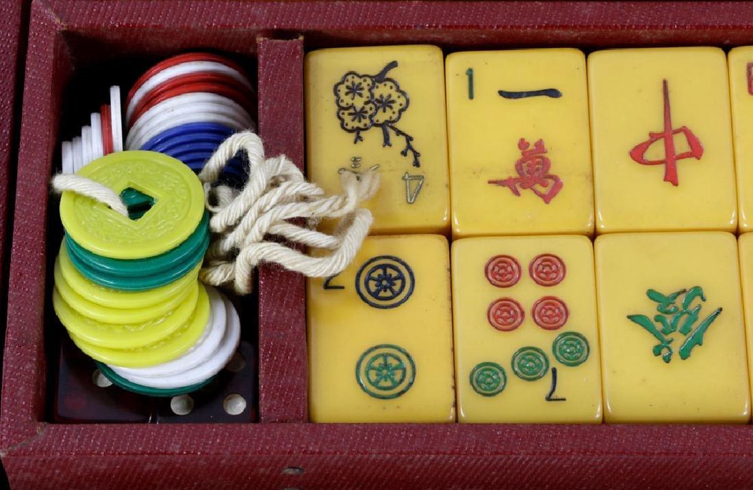 Chinese Mahjong Set - 4