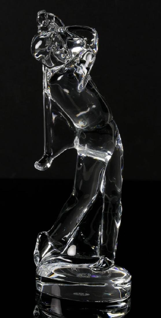 Pr. Baccarat Crystal Golfer Figures - 4