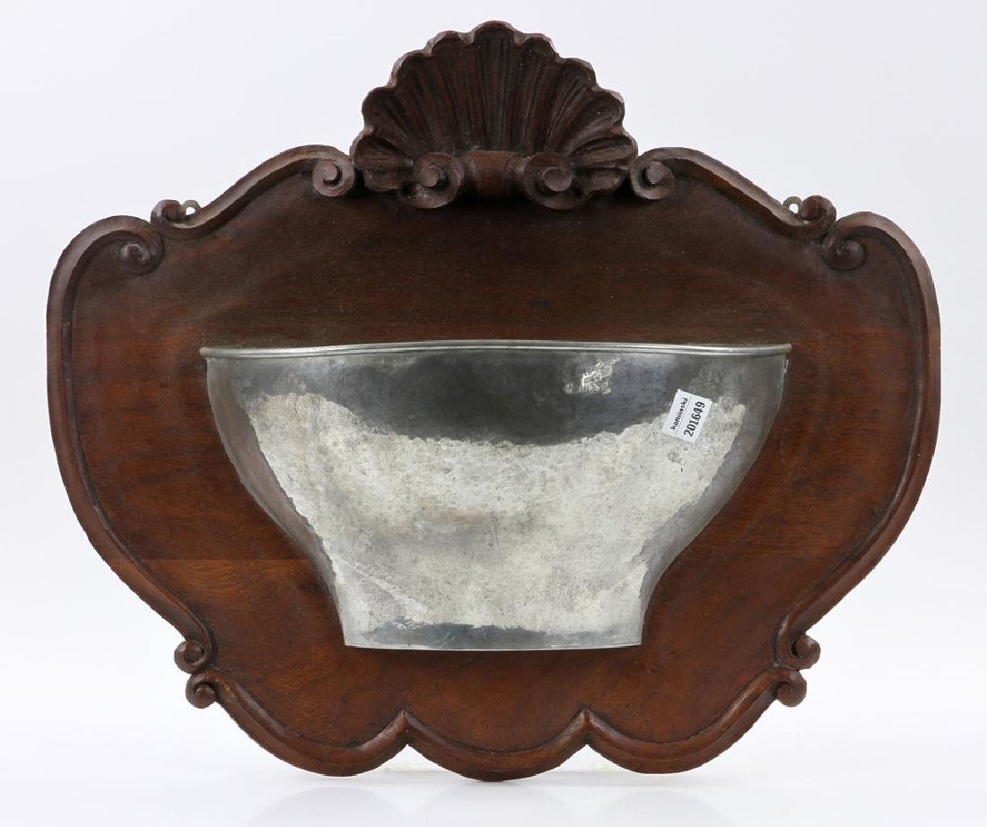 Hammered Silver Wall Sconce