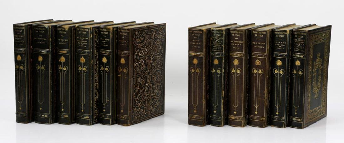 """Collection of """"The Literature of Italy,"""" Visconti"""