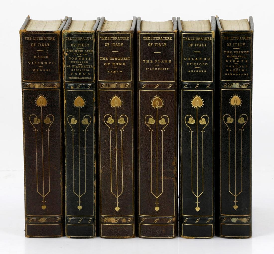 """Collection of """"The Literature of Italy,"""" Visconti - 3"""