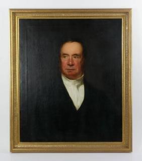 Napier, Portrait Of Reverend Clark, Oil On Canvas
