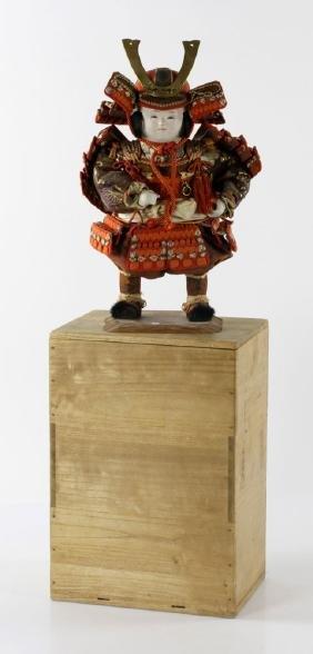 Japanese Samurai Warrior Figure