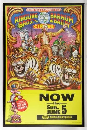 Ringing Bros. and Barnum & Bailey Circus Poster