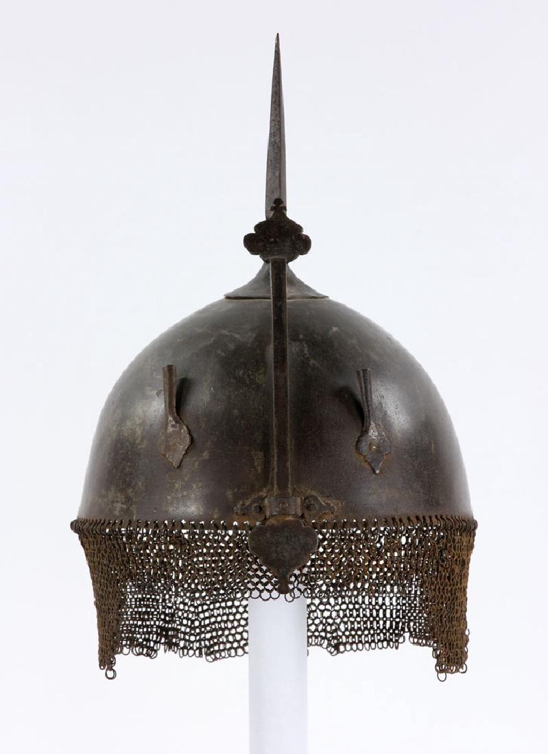 Early Iron Indo-Persian (Kulah Khud) Helmet