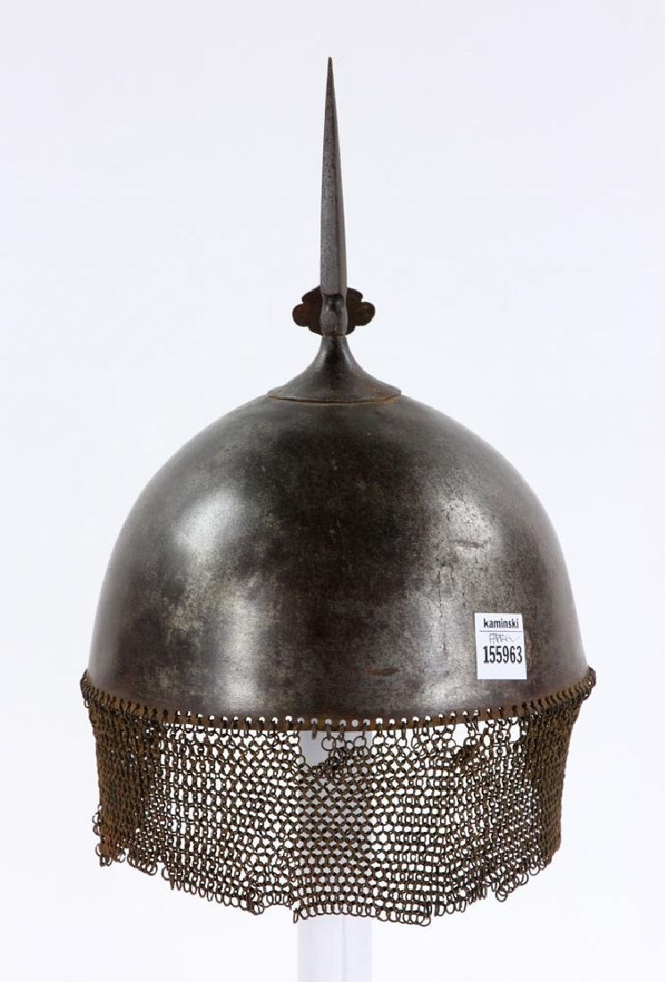 Early Iron Indo-Persian (Kulah Khud) Helmet - 4