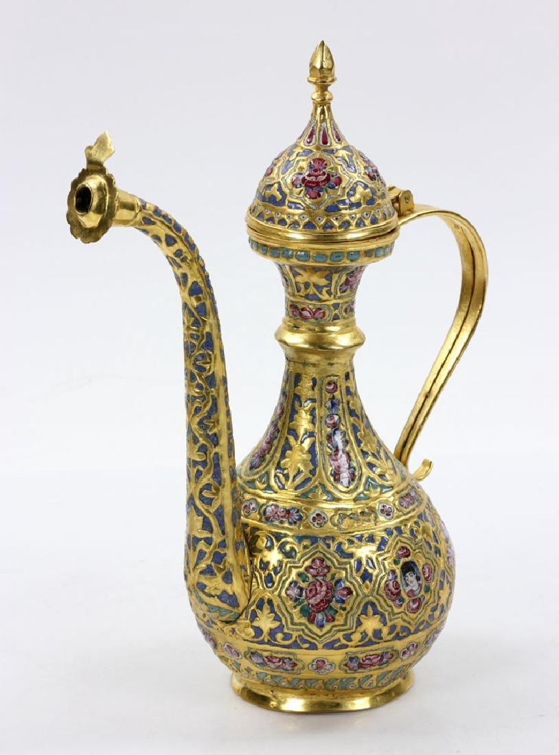 Qajar Enamel Liquor Set - 3