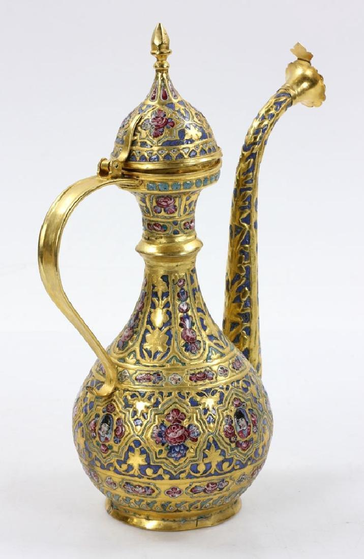 Qajar Enamel Liquor Set - 4