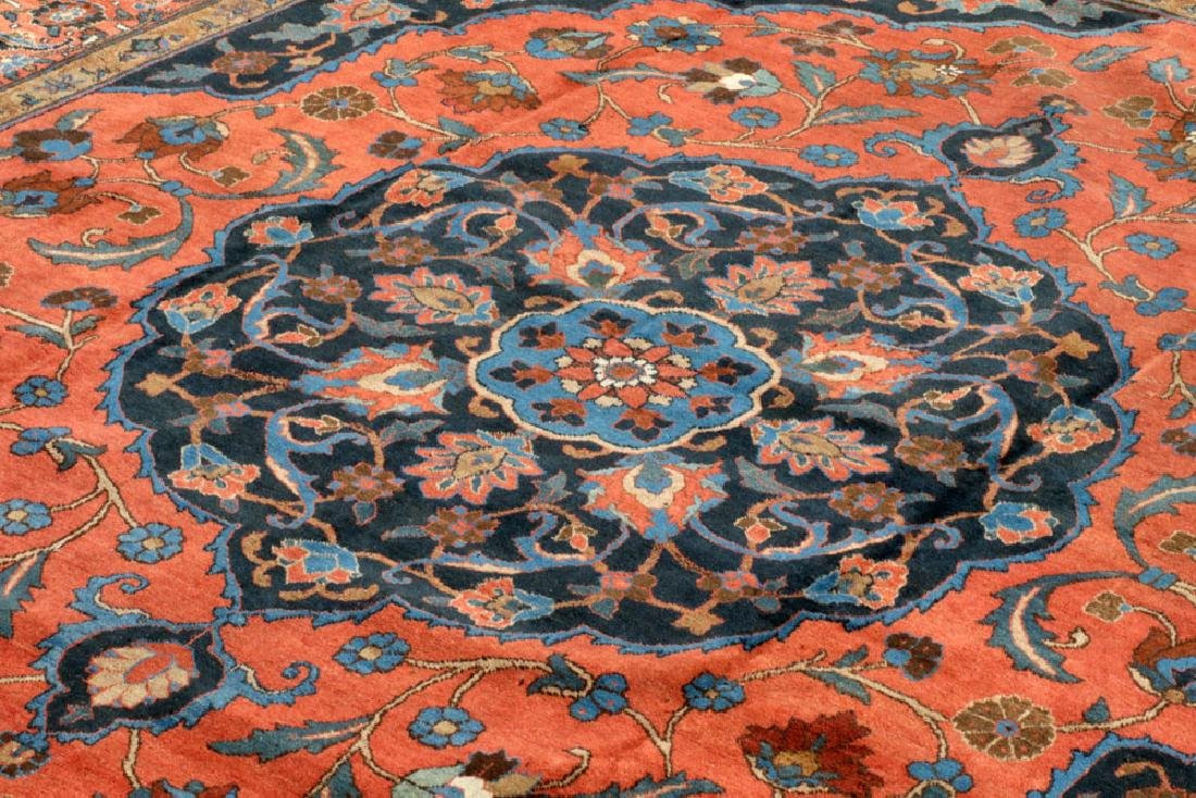 Antique Persian Heriz/Tabriz Carpet - 2