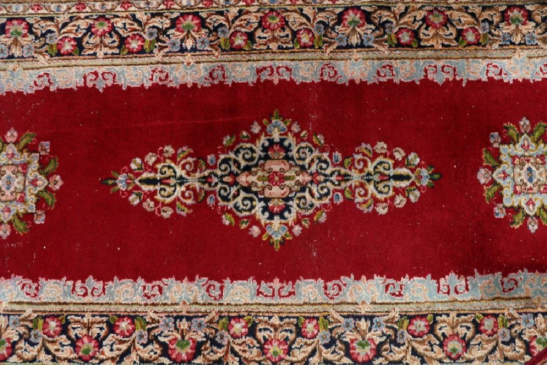 Antique Persian Kerman Runner and Scatter - 2