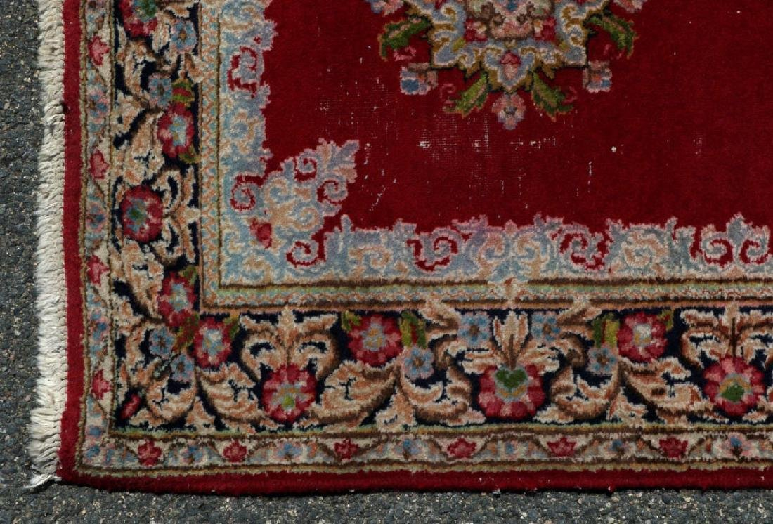Antique Persian Kerman Runner and Scatter - 5